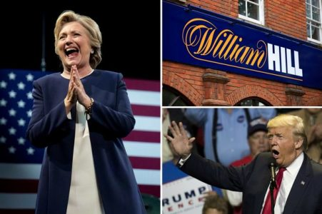 william hill changes odds for presidential election