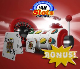 All Slots casino offers a huge welcome bonus for every new player!