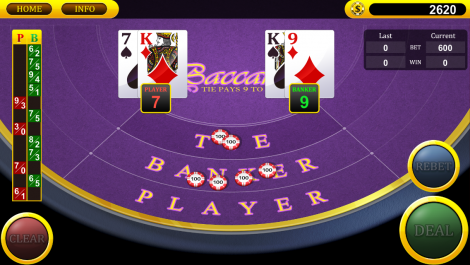 best online casinos baccarat