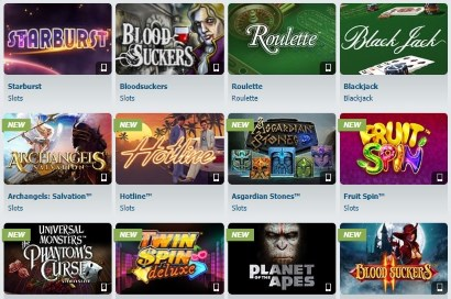 Bet-at-Home offers a quality selection of casino games.