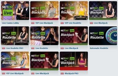 Can I play Live Blackjack at the Bet-at-Home casino website?