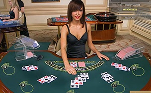 is there an option at betfair for live blackjack