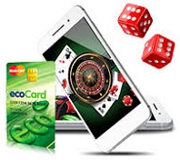 are there special advantages like mobile betting via EcoCard