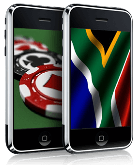 can you bet via mobile at web casinos in south africa