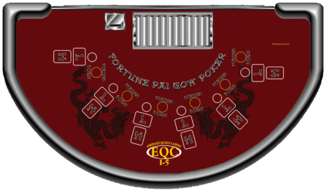 pai gow poker online table