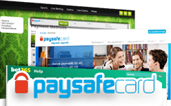 is paysafecard banking accepted at all internet casinos