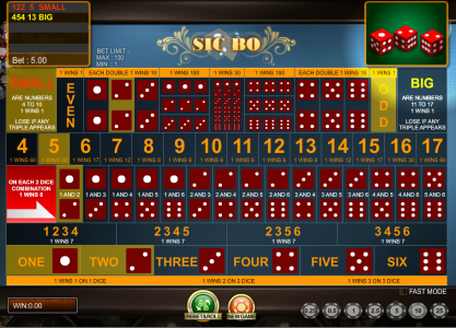 sic bo casinos game