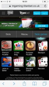 has titanbet mobile casino got a gambling commission licence